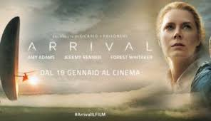 Arrival, di Denis Villeneuve, Science-fiction, Usa 2016, 116 min.